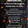 Storsamling 8.des-19 Plakat